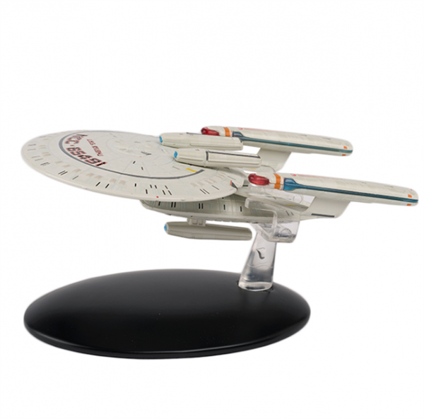 U.S.S. Kyushu New Orleans class Star Trek model with english magazin #95 Eaglemoss