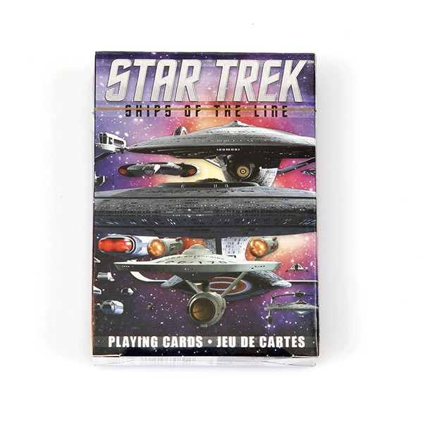 Playing Cards Set Ships of the line Star Trek