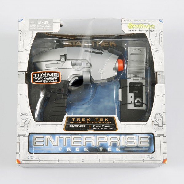 Enterprise NX-01 Phaser & Communicator Star Trek