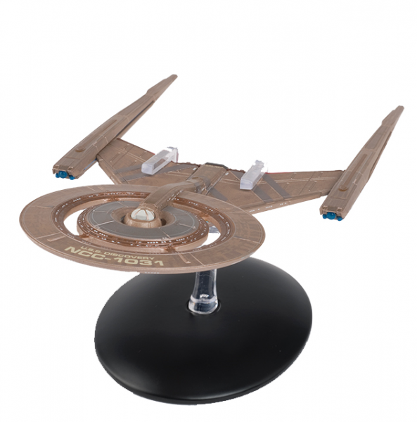 USS Discovery NCC-1031 Star Trek Discovery starship model with Englisch magazine Eaglemoss