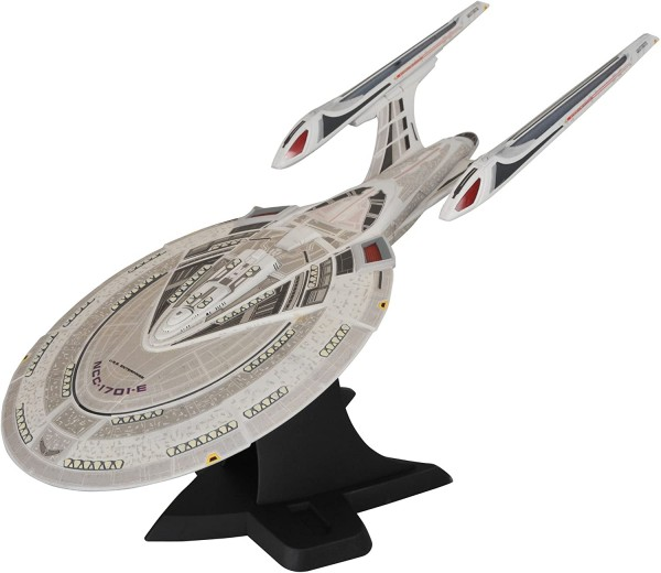 U.S.S. Enterprise 1701-E First Contact electronic starship with Light and Sound new in box
