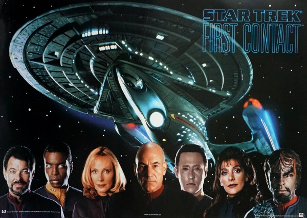 First Contact Crew - Poster Star Trek