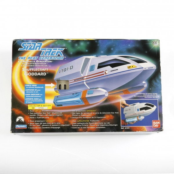 Shuttle Goddard - model with light and sound effects Star Trek
