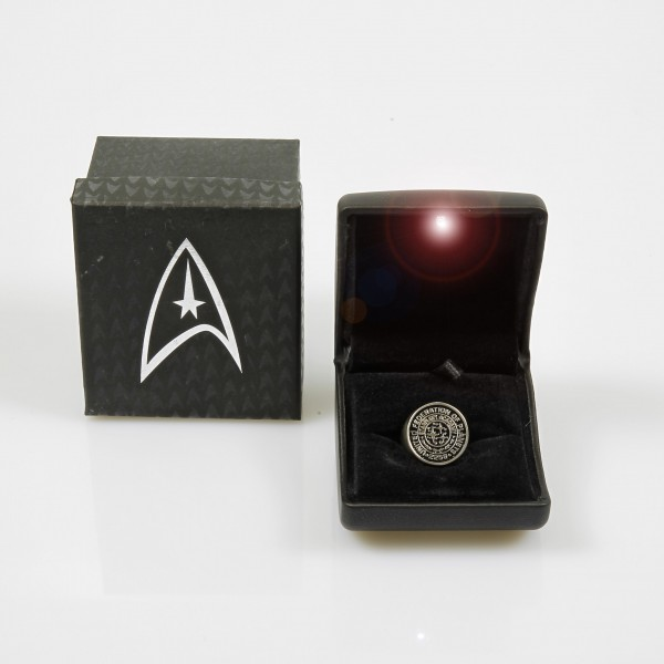 Starfleet Academy Ring - Star Trek Into Darkness Replica