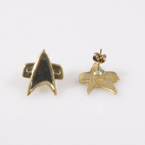 Stud Earings Voyager Communicator Star Trek mini