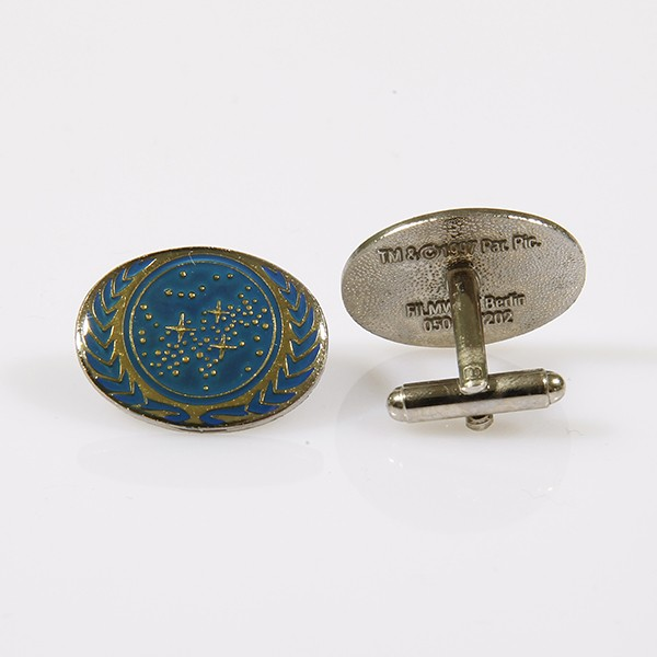 Cuff Links United Federation of Planets Star Trek