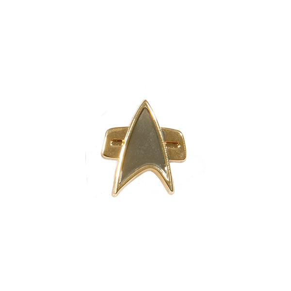 Communicator Pin - Voyager + DS9 mini Star Trek