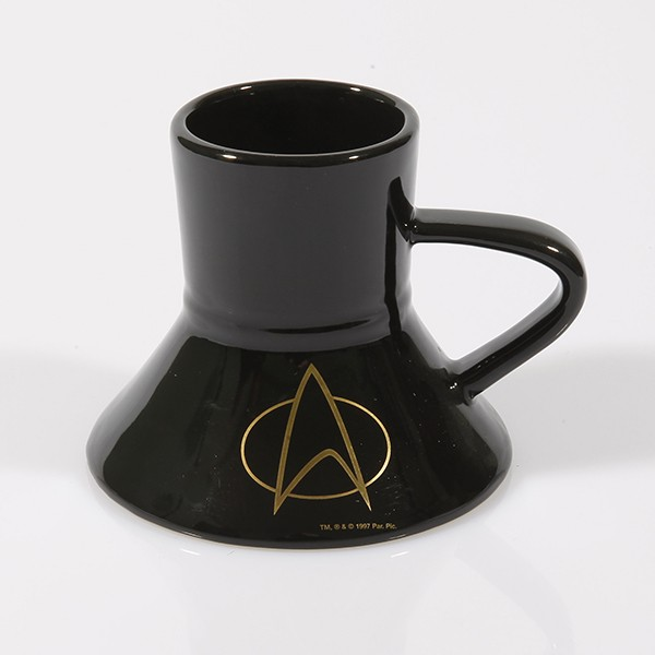 Warp Speed Mug Star Trek The Next Generation Communicator 24-Karat