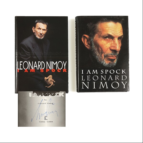 """I am Spock"" Leonard Nimoy - Book Set Star Trek"