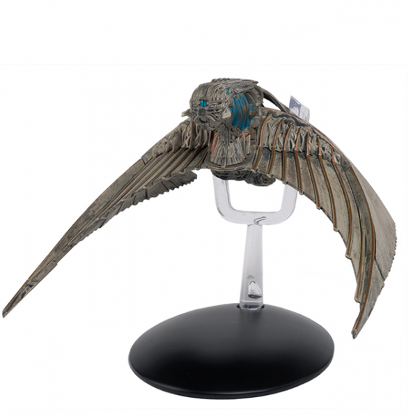 Klingon Bird-of-Prey Starship - Star Trek Discovery model Eaglemoss #4