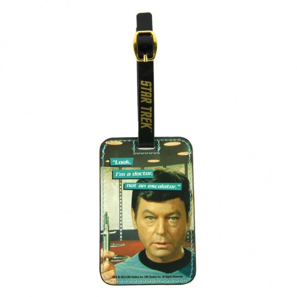 Luggage Tags Doctor McCoy Star Trek