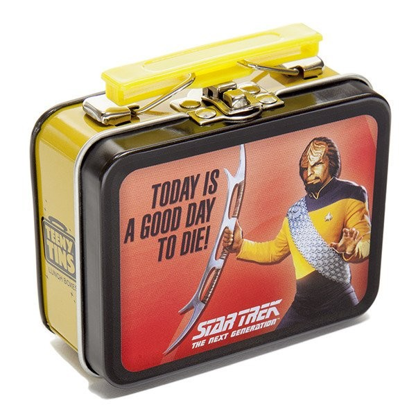 Worf Mini Collectors box Star Trek The Next Generation