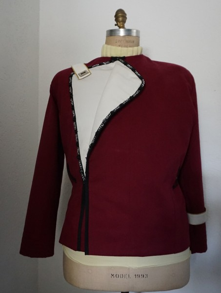 Monster Maroon Jacket - Star Trek II-VI