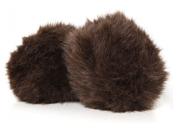 Star Trek Tribble small dark brown