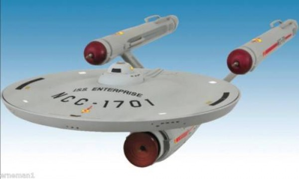 "NCC-1701 Model from the parallel universe ""Mirror, Mirror"" - with light and sound 30 cm"