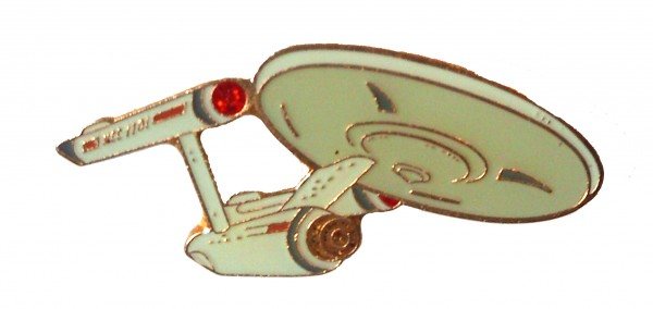 U.S.S. Enterprise NCC-1701 official Collectors Pin Star Trek