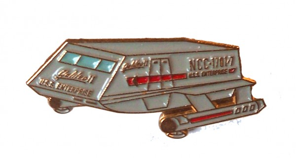 Galileo Shuttle NCC-1701/7 official Collectors Pin Star Trek