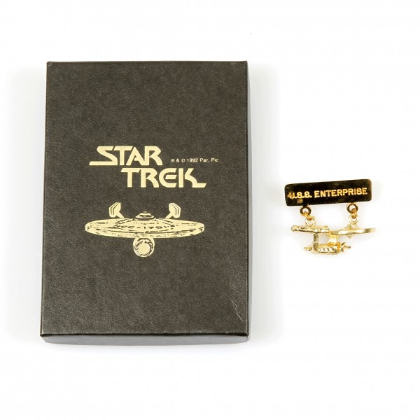 U.S.S. Enterprise NCC-1701 Ornament brooch Star Trek