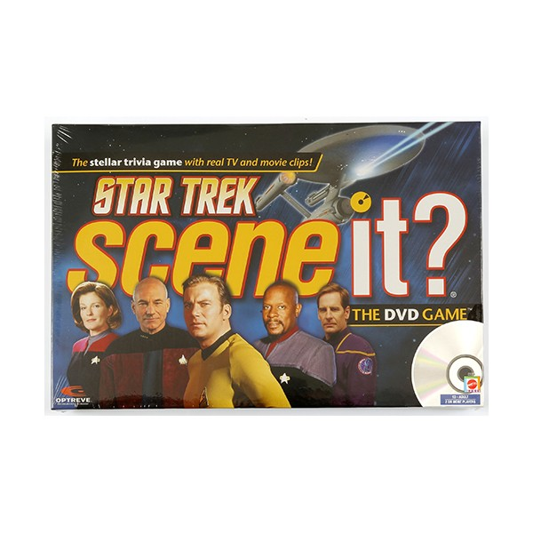 "Star Trek ""Scene it?"" interactive DVD Game"