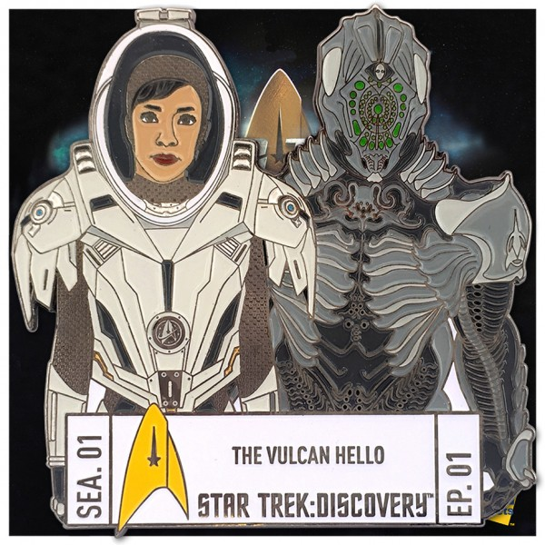 Discovery Episode Collectors Pin - Season 1 Episode 1 - Star Trek official Collectors Edition
