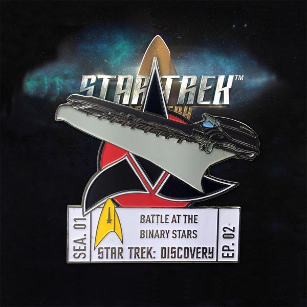 Discovery Episode Collectors Pin - Season 1 Episode 2 - Star Trek official Collectors Edition