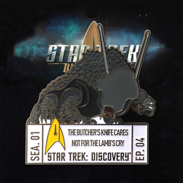 Discovery Episode Collectors Pin - Season 1 Episode 4 - Star Trek official Collectors Edition