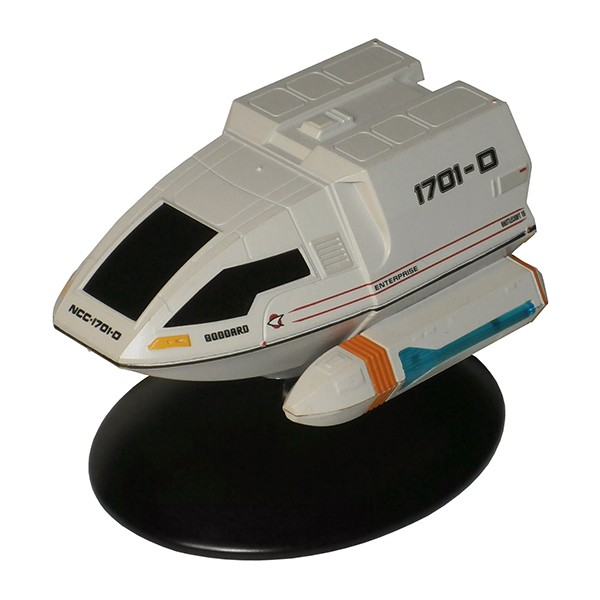 Goddard Shuttle Type-6 U.S.S. Enterprise NCC-1701-D Star Trek starship model