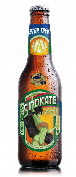 Sindicate Lager exclusive Star Trek Beer - 6 bottles