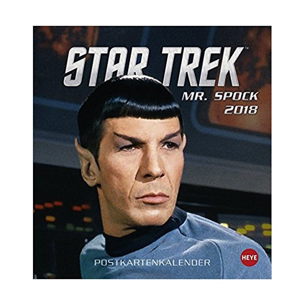 Calendar 2018 Mr. Spock Star Trek