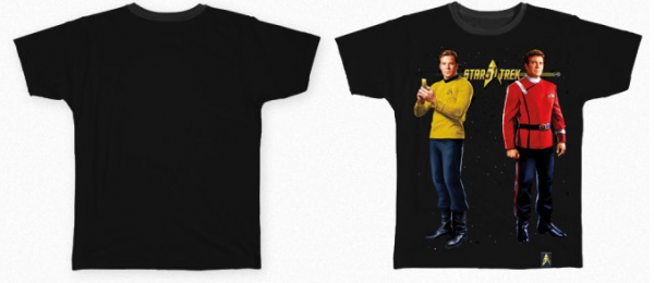 Star Trek 50 Anniversary James T. Kirk Shirt