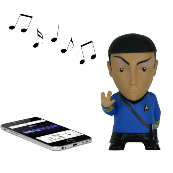 Bluetooth Speaker Mr. Spock Star Trek