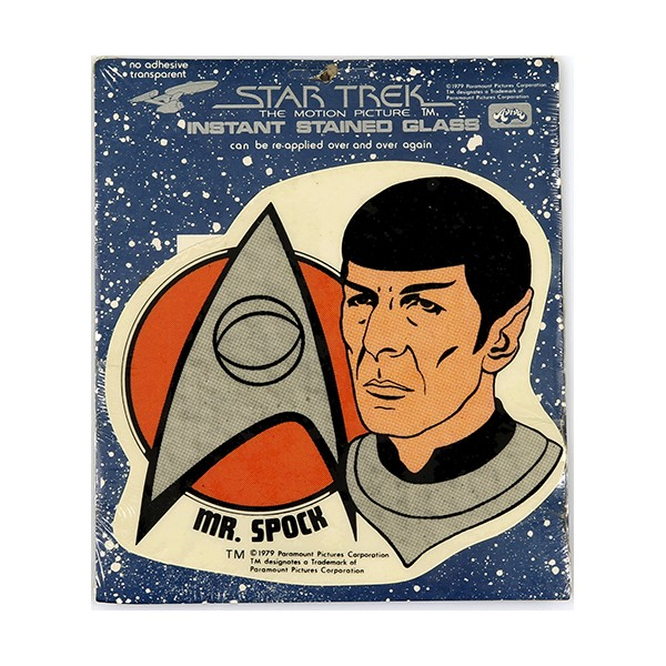 Window Picture - Mr Spock Sticker - Star Trek Motion Picture