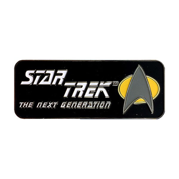 The Next Generation Logo Collectors Pin Star Trek official Collectors Edition