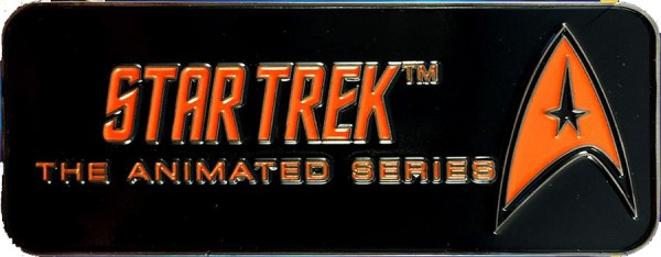 The Animated Series Logo Pin Star Trek official Collectors Edition