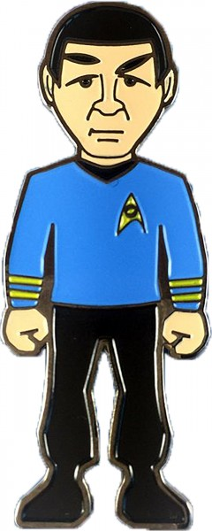 Mr. Spock Collector Pin Star Trek Official Collectors Edition