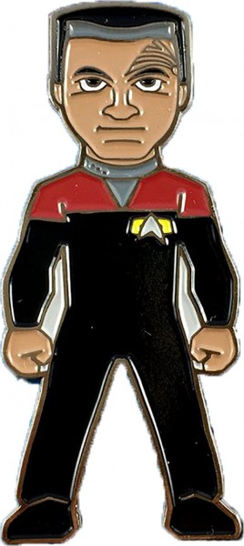 Commander Chakotay Collectors Pin Star Trek official Collectors Edition