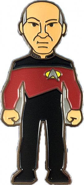 Captain Picard Collectors Pin Star Trek official Collectors Edition