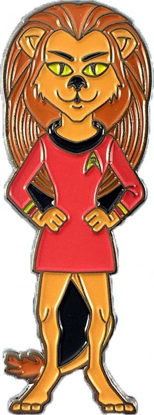 Lieutenant M'ress Collectors Pin Star Trek official Collectors Edition