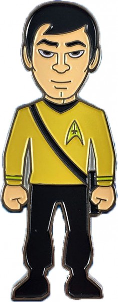 Sulu Collectors Pin Star Trek official Collectors Edition