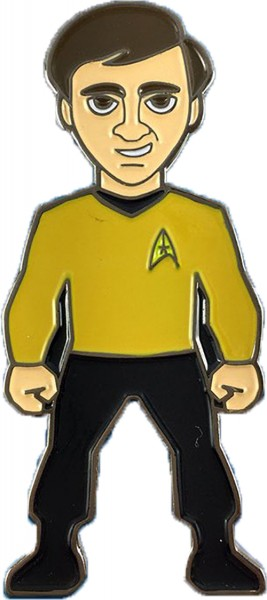 Pavel Chekov Collectors Pin Star Trek official Collectors Edition