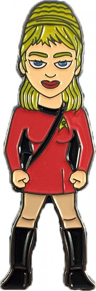 Yeoman Rand Collectors Pin Star Trek official Collectors Edition