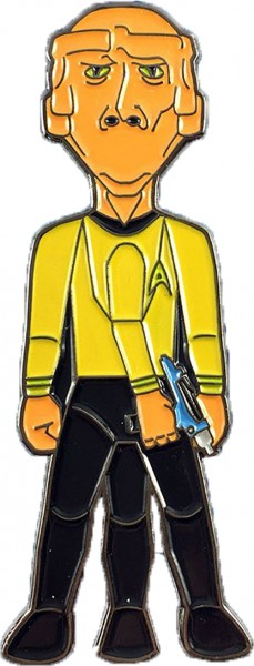 Lieutenant Arex Collectors Pin Star Trek official Collectors Edition