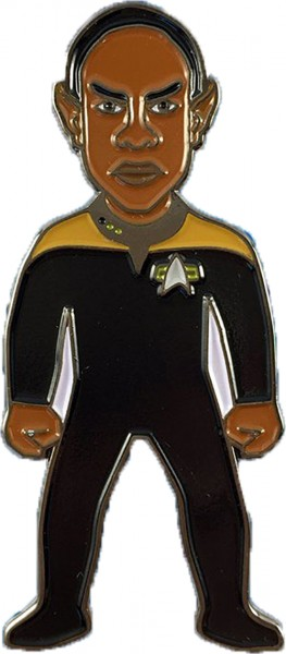Lieutenant Commander Tuvok Collectors Pin Star Trek official Collectors Edition