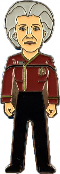 Admiral Janeway Collectors Pin Star Trek official Collectors Edition