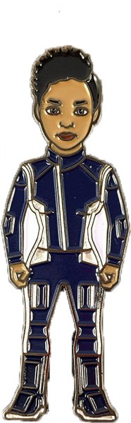 Michael Burnham Silver Uniform (Science) Pin Star Trek Discovery official Collectors Edition