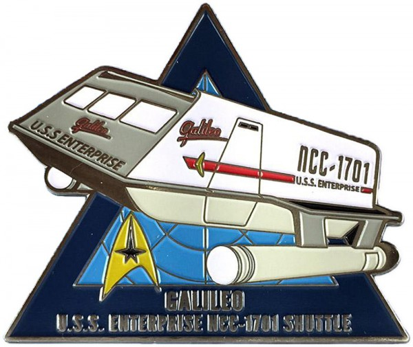 Galileo Shuttle Collectors Pin Star Trek official Collectors Edition