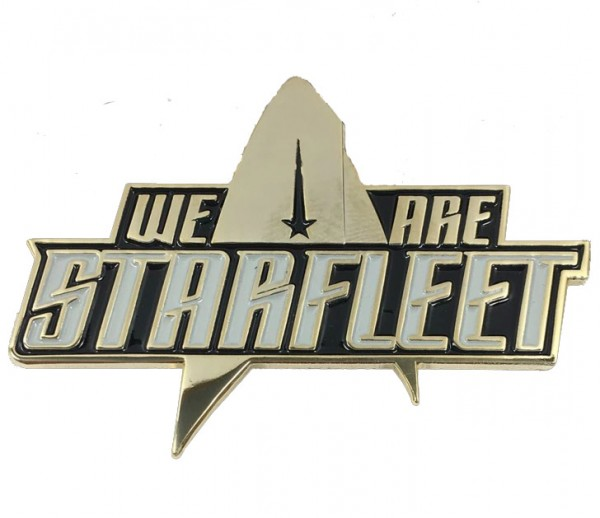We are Starfleet pin Star Trek official Collectors Edition