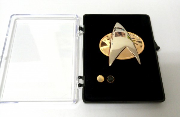 Communicator + Rankpin Set Lieutenant Junior Grade - Next Generation Star Trek