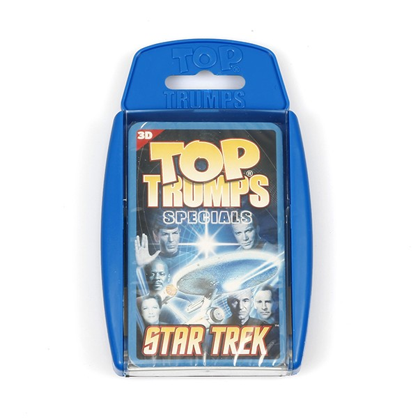 Top Trumps playing cards Star Trek Specials