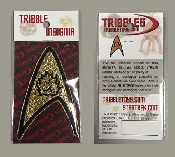 Tribble Insignia Patch Star Trek